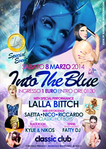 Classic Club presenta Into The Blue