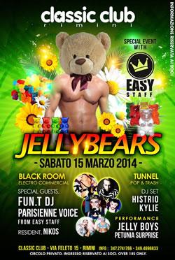JellyBears al Classic Club Rimini 15 Mar