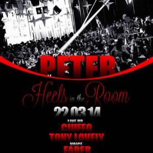 Heels in The Room al Peter Pan 22Mar2014