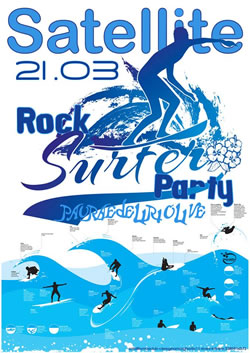 Rock Surfer Party al Satellite 21 Mar2014