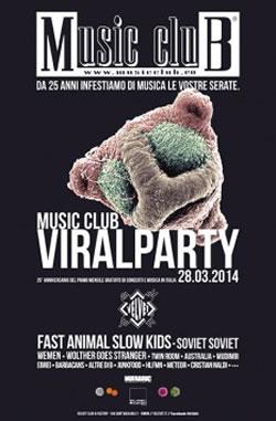 Music Club Viral Party al Velvet Rimini