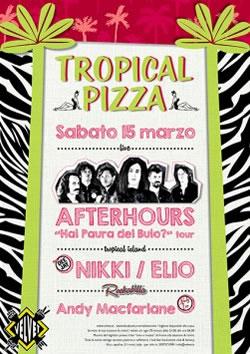 velvet tropical pizza 15 marzo 2014