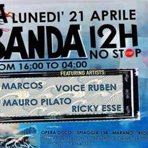 Banda 12H No Stop all'Operà Riccione