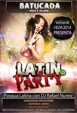 Party Latino al Batucada Misano