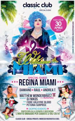 Welcome to Miami al Classic Club