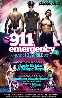classic club emergency 12 aprile 2014