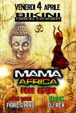 Mama Africa al Bikini Cattolica 4 Aprile