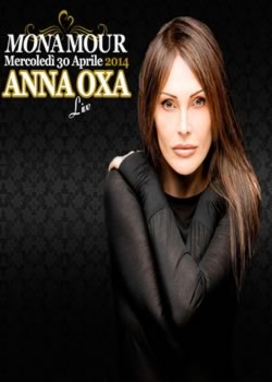 monamour anna oxa 30 aprile 2014