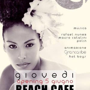 Il giovedì latino del Beach Café Riccione