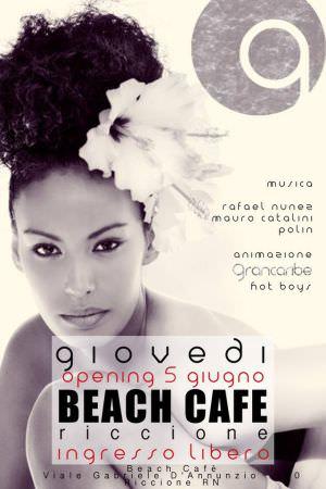 beach cafe riccione 5 giugno 2014