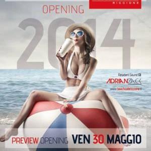 Pre Opening del Beach Cafè Riccione