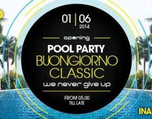 Pool Party all'After del Classic Club Rimini