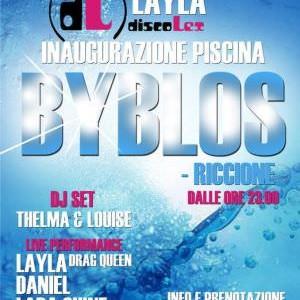 Apertura estiva 2014 Byblos Riccione