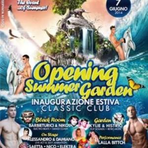 Summer Garden 2014 al Classic Club Rimini