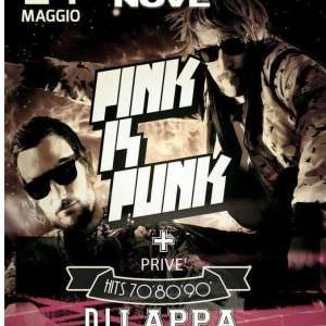 Pink is Punk al Nove Nove ONE NIGHT con il Cocoricò Riccione