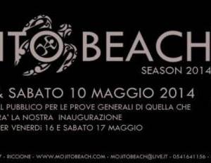 Pre Apertura del Mojito Beach 2014
