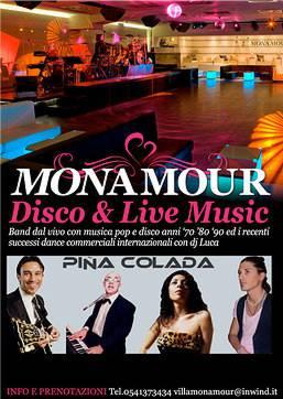 Weekend Monamour Rimini con Pinacolada