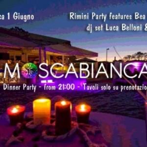 Dinner party al Moscabianca Riccione