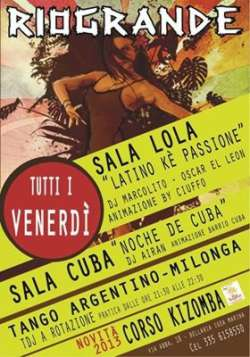 Latino ke passione al Rio Grande Rimini