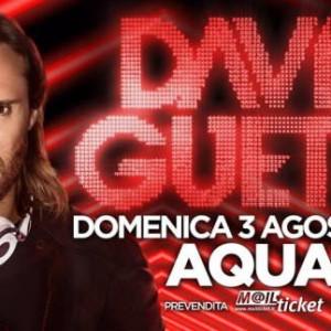 David Guetta all'Aquafan Riccione