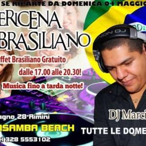 Apericena Brasiliano al Terrasamba Rimini