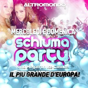 Il grande Schiuma Party dell'Altromondo Studios