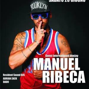 Manuel Ribeca al Beach Café Riccione