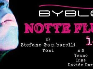 Notte Fluo al Byblos Riccione