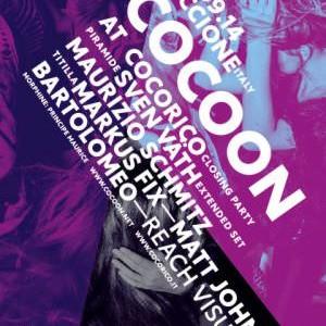 Chiusura Cocoricò con la festa Cocoon