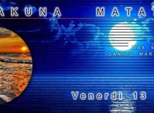 Nuovo fine settimana di musica all'Hakuna Matata