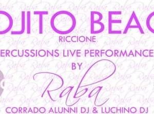 Percussion Live al Mojito Beach Riccione