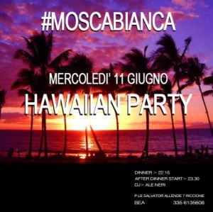 Primo Hawaiian party al Moscabianca Riccione