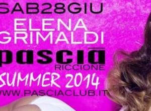 Elena Grimaldi al Pascià Riccione