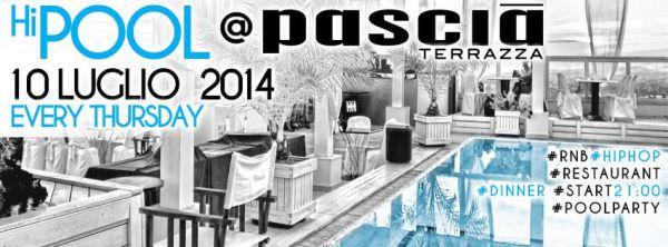 pascia riccione pool party 10 luglio 2014