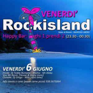 Torna il Venerdì Rockisland Rimini