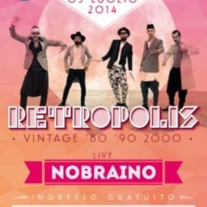 Velvet Rimini festa Retropolis con i NoBraino