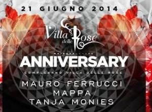 Anniversary Villa delle Rose Riccione