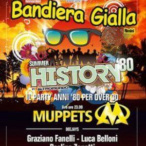 Muppets al Bandiera Gialla Rimini