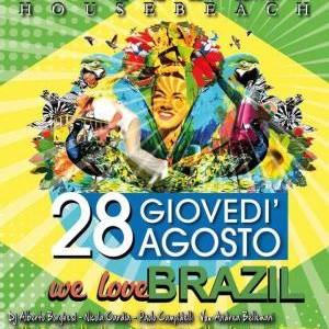 Festa We Love Brasil al Beky Bay
