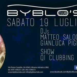 Matteo Salocchi al Byblos Riccione