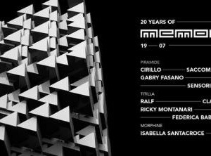 20° anniversario Memorabilia Cocoricò Riccione
