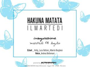 Hakuna Matata presenta serata Revival