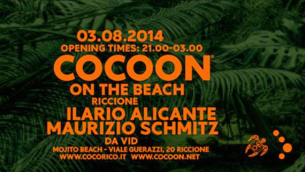 mojito riccione cocoon on the beach 1 agosto 2014