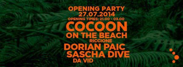 mojito riccione cocoon on the beach 27 luglio 2014