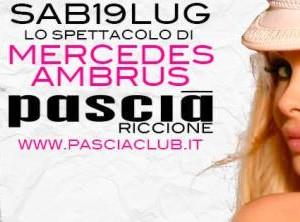 Mercedes Ambrus al Pascià Riccione