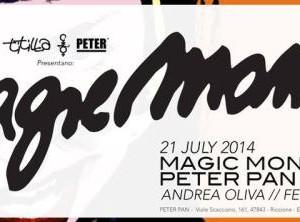 Magic Monday al Peter Pan con Federico Grazzini