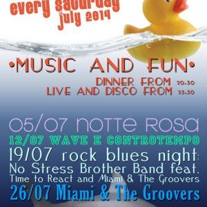 Miami & The Groovers al Rockisland Rimini
