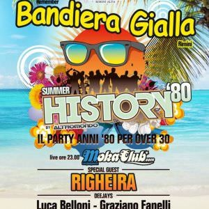 Righeira e i Moka Club al Bandiera Gialla