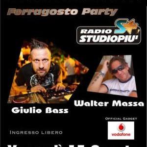Giulio Bass e Walter Massa al Beach Café Riccione