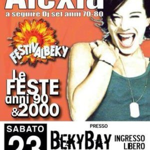 Festival Beky Anni 90 con Alexia